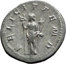 GORDIAN III 240AD Authentic Genuine Ancient Silver Roman Coin Felicitas  i59063