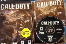 Call of Duty (PC, 2003) Case ,Manual, DIsc             S-3