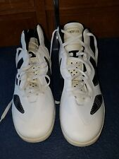 Nike Zoom Hyperfuse Mens Size 18 White / Black Oreo Basketball Shoes NWOT