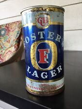 Vintage Older Fosters Lager Beer Can 25oz. Empty