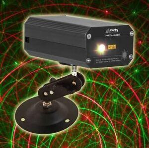 Mini Effet laser Firefly 120 mW rouge vert Party-Laser