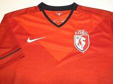NIKE Lille LOSC Soccer Futbol Jersey, RED, Men's Large, NWOT, FREE Shipping