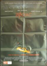 Zodiac (2007) Australian One Sheet ROBERT DOWNEY JR
