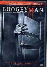 NEW DVD // The Boogeyman -  Barry Watson, Emily Deschanel, Lucy Lawless, Skye Mc