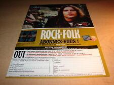 NEAL CASAL - ROCK N FOLK!!!!!!!!!!!!FRENCH PRESS ADVERT