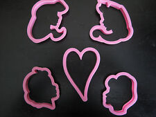GREAT FOR DISNEY PARTY PRINCESS COOKIE CUTTER MOLD CUPCAKE BIRTHDAY FAVOR