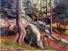 Lenox Massachusetts, Tanglewood  36x48 in. Original Oil on canvas HALL GROAT II