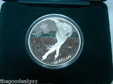 1988 Canada $20 Proof Calgary Olympic Coin SPEED SKATING 1 TROY OUNCE XV OLYMPIC
