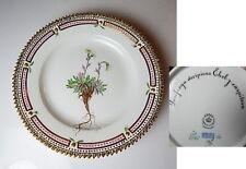 Royal Copenhagen FLORA DANICA #3551 Dessert Plate, 1st Quality, Mint!
