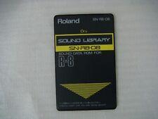 Roland R-8 & R-8M - Dry-Tarjeta de sonido del tambor-SN-R8-08