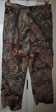 Outfitters Ridge Realtree Boys Camouflage Cargo Hunting Pants Youth Large 10-12
