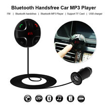 Black Wireless Car Bluetooth3.0 FM Transmitter MP3 Player Radio with USB Charger