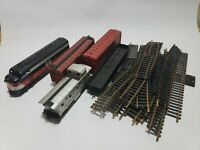 Mixed Lot Vintage Electric train, Tracks, New Haven,Erie 14427 UNTESTED PARTS C9