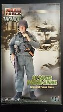 Elite Force WWII 21st Panzer Division Gunner Corporal Franz Hass 1:6 Figure