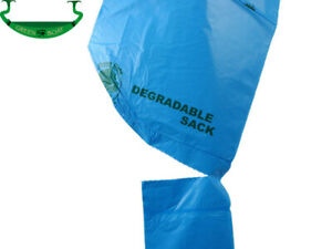 30 Biodegradable Degradable Compostable Eco Friendly Disposable Green Trash Bags