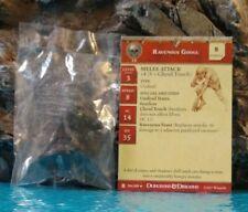 Dungeons & Dragons DESERT OF DESOLATION RAVENOUS GHOUL #54 Uncom. Med. W/C.(F)