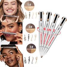 4 en 1 Contour Stylo Surligneur Iperméable Brow Crayon à Sourcils Eyebrow Pencil