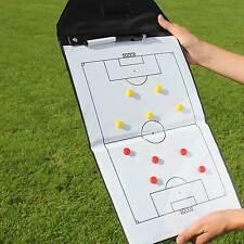 Trainerbedarf Faltbare Taktikmappe 46 x 25 cm schwarz/weiß Neu Superspieler24