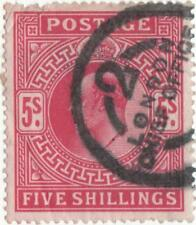 Used British Edward VII Stamps