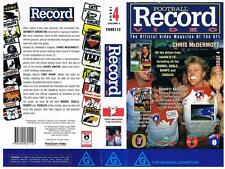 AFL: FOOTBALL RECORD VIDEO: ISSUE 4, {1994}  *RARE VHS TAPE*  AFL
