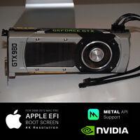  Apple Mac Pro Nvidia GTX 980 Graphics Video Card 5,1 4,1 3,1 2008 - 2012 4K 5K