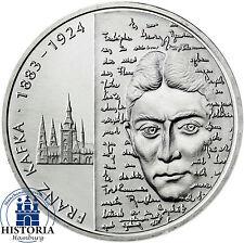 Deutschland 10 Euro Silber 2008 bfr Geburtstag Franz Kafka Münze in Münzkapsel