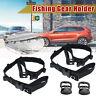2PCS 5 Road Vehicle Car Fishing Carrier Rod Holder Belt Strap Tie Band