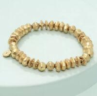 Stella & Dot Nicholette Stretch Bracelet - Gold