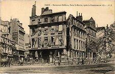 CPA Militaire, Paris - Restaurant Deffieux (362393)