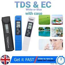Digital Electric TDS/EC Water Meter Tester Pocket Hydroponics Aquarium with Case