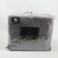Aq Textiles Landry 1200 Thread Count Queen Extra Deep Sheet Set Steel Grey F315