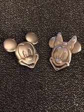 Mickey And Minnie Head Pins