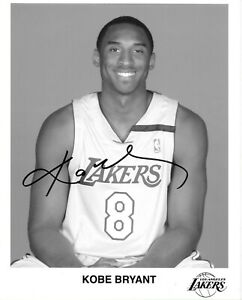 KOBE BRYANT signed autographed 8x10 JSA certified - RARE Lakers issued photo