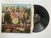 Beatles Sgt Peppers Lonley Hearts Club Band Vinyl Record LPVG Gatefold 1973