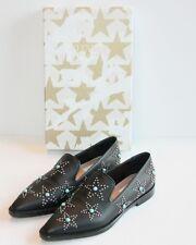 $1295 Valentino Black BEATLES Star Studded Loafers Star 38 / 8