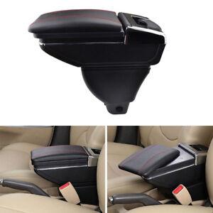 Car Rotatable Armrest For Toyota Yaris Vitz 1998-2005 Storage Arm Rest