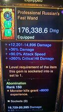 DIABLO 3 MODDED WAND RUSSIANS FAST WAND  PATCH 2.4 for XBOX ONE, MODDED WEAPON