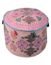 Handmade Pink Poufs