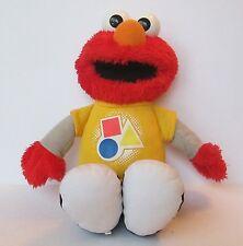 "Talking Singing 12"" Plush Toy Sesame Street Elmo Figure Colors Hasbro Learning"