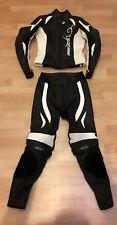 Probiker Lederkombi PRX 7, zweiteilig, Größe 34, Damen, inkl. Rückenprotektor
