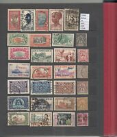 LOT STAMPS FRANCE COLONIES USED (L34566)