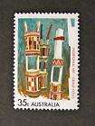 1971 Australian Stamps - Aboriginal Art - Grave Posts - Single MNH