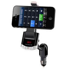 Bluetooth FM Transmitter Car Kit Handsfree Charger MP3 Player phone Mount Holder