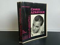 YVES SALGUES CHARLES AZNAVOUR chez SEGHERS 1964 E.O exp. H.C. dédicacé