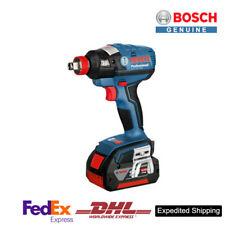 BOSCH GDX 18V-EC 2B Professional Cordless Impact Driver Wrenches SET Exp Ship