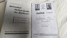 altes Genossenschafts Sparbuch Raiffeisen Kasse Dachau Petershausen 1939 - 50er