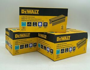 "DeWalt DRS18100 1""  Insulated Electrical Staples - 3 Boxes (540 per Box)"