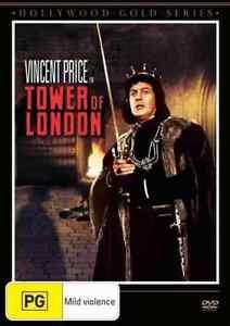 Tower of London - Horror - Vincent Price - Australian Stock - DVD