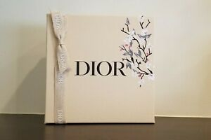 Christian Dior Floral Beige Gift Box Spring Mother's Day Box New w Ribbon 2021