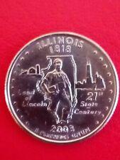 2003 US-Illinois 1818 Land of Lincoln 21st State Century-quarter dollar